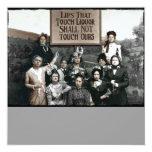 Prohibition Ladies 13 Cm X 13 Cm Square Invitation Card