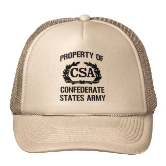 Property of confederate states army cap