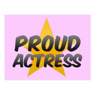 Proud Actress Postcard