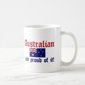 Proud Australian Basic White Mug