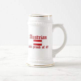 Proud Austrian Beer Steins
