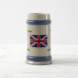 Proud Brit Beer Steins