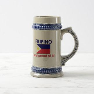 Proud Filipino Beer Steins