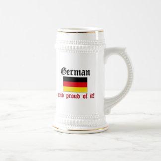Proud German Beer Steins