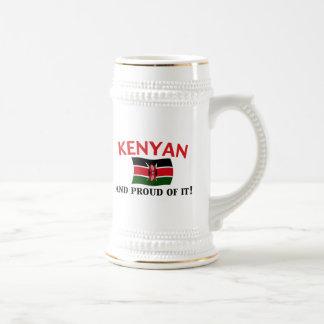 Proud Kenyan Beer Steins