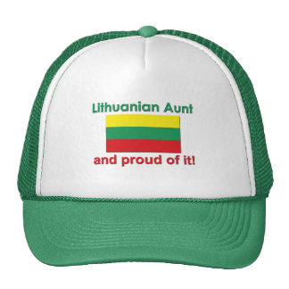 Proud Lithuanian Aunt Cap