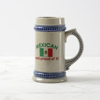 Proud Mexican Beer Steins