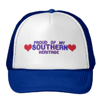 Proud Of My Southern Heritage Caps and Hats