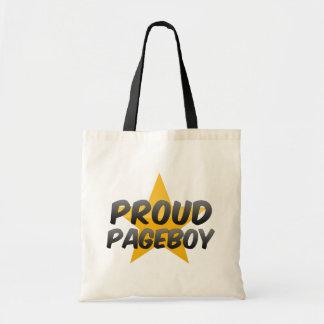 Proud Pageboy Budget Tote Bag