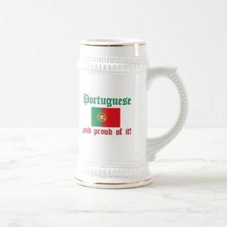 Proud Portuguese Beer Steins