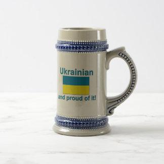 Proud Ukrainian Beer Steins
