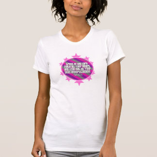 Proverbs 3:5 (Pink) Ladies Spaghetti Top (Fitted) Tee Shirt
