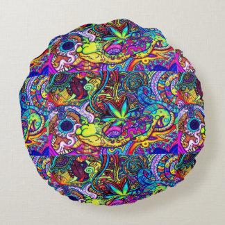 Psicodélica cushion round cushion