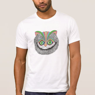 Psychedelic Cheshire Cat Tee Shirt