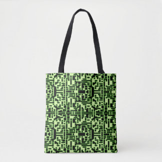 Psycho Glow Maze Tote Bag