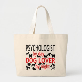 Psychologist by Day Dog Lover by Night Jumbo Tote Bag
