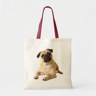 Pug Puppy Dog Canvas Tote Bag