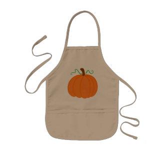 Pumpkin Harvest Kids Apron