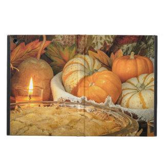 Pumpkins still life iPad air cover