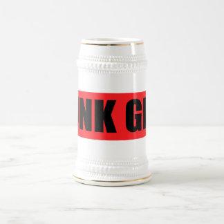 Punk Girl Beer Steins
