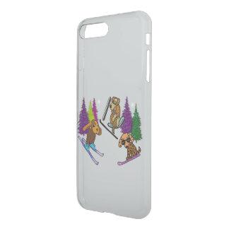 Puppy Ski Vacation iPhone7 Deflector Case