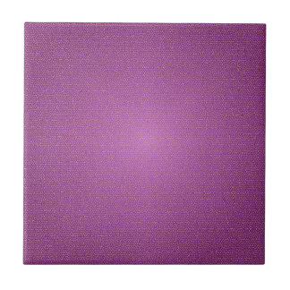 Purple Design Small Square Tile