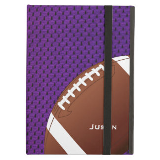 Purple Football iPad Air Case