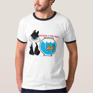 Pussyfoot Grumpy Kitty T Shirts