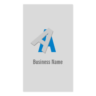 Puzzle Text System Architect Business Card