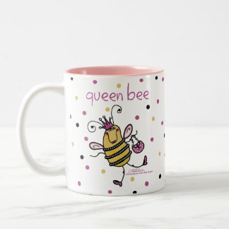Queen Bee Two-Tone Mug