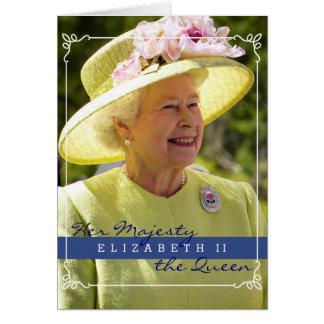 Queen Elizabeth of England Greeting Card