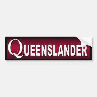 Queenslander. Australians who live in Queensland. Bumper Sticker