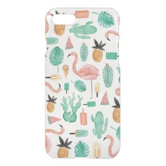 Quiet the Prickly Pair iPhone 7 Case