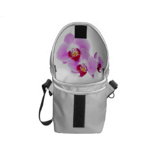 Radiant Orchid Closeup Photo - Isolated on Transpa Courier Bags