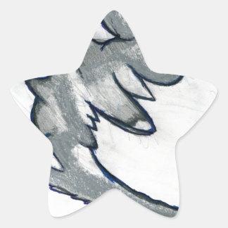 Radix Form Star Sticker