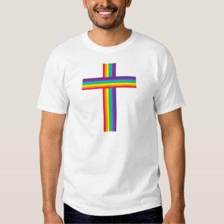 Rainbow CROSS T Shirts