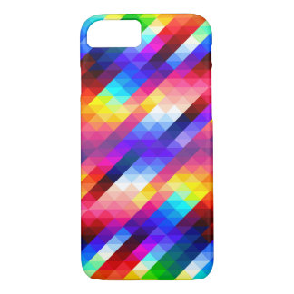 Rainbow Geometric design iPhone 7 Case