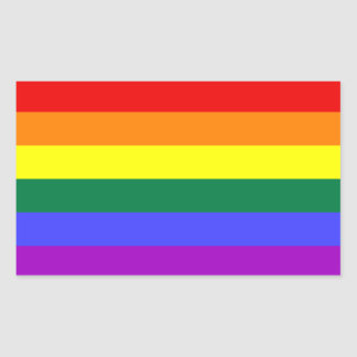 Rainbow Pride Flag Sticker