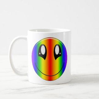 Rainbow Smiley Mugs