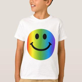 Rainbow Smiley Tees
