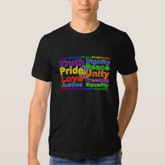 Rainbow Values shirt - choose style & color