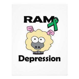 RAM Depression 21.5 Cm X 28 Cm Flyer