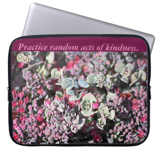 Random Acts of Kindness Laptop Sleeve