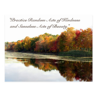 Random Acts of Kindness Postcard- Reflections Postcard