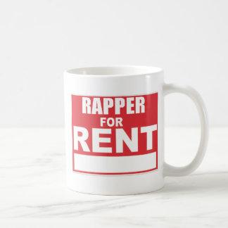 Rapper For rent Basic White Mug
