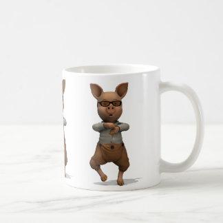 Rapper Pig Basic White Mug