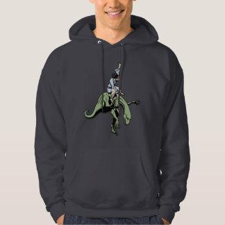 Raptor Rodeo Jesus Hoodies