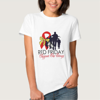 Read Friday - Support Our Troops Tshirts