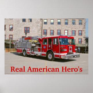 Real American Hero's Poster