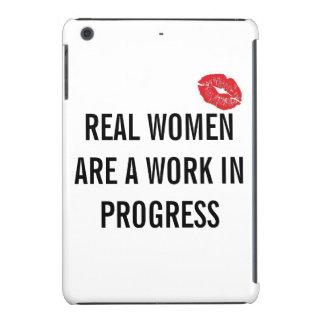 Real Women Are A Work In Progress (iPad Mini Case) iPad Mini Case